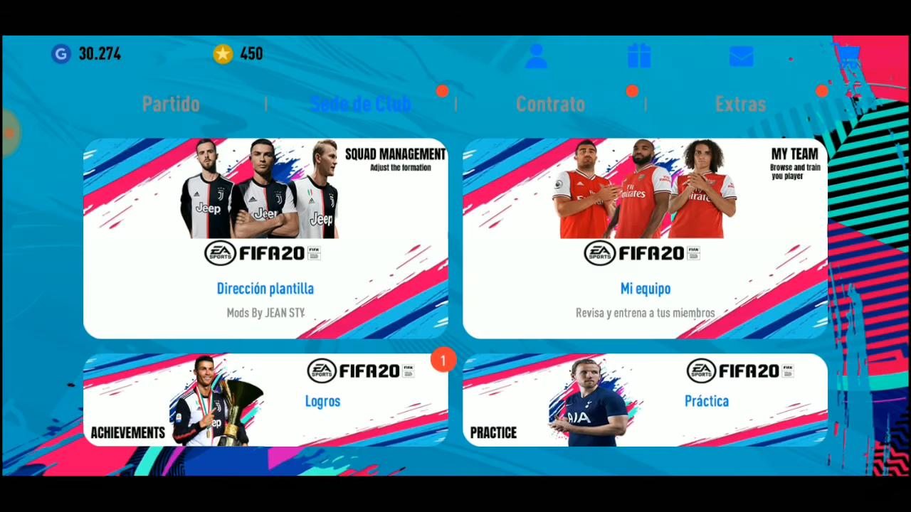 PES 2019 Mobile Patch FIFA 20 Mod ( PES 2019 3 3 1 ) [ NON
