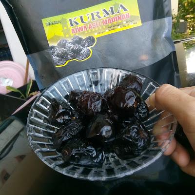 Kurma Ajwa Asli Madinah VIP Premium keluaran Rihura Herb