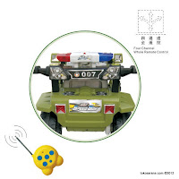 1 Motor Mainan Aki Elite 007Q Hummer Speed Boy