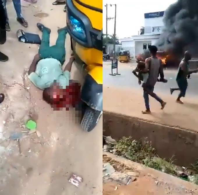 Two students shot dead during attack on a bank in Anambra