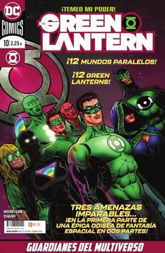 Los Guardianes del Multiverso, 12 Green Lanterns de otros universos paralelos