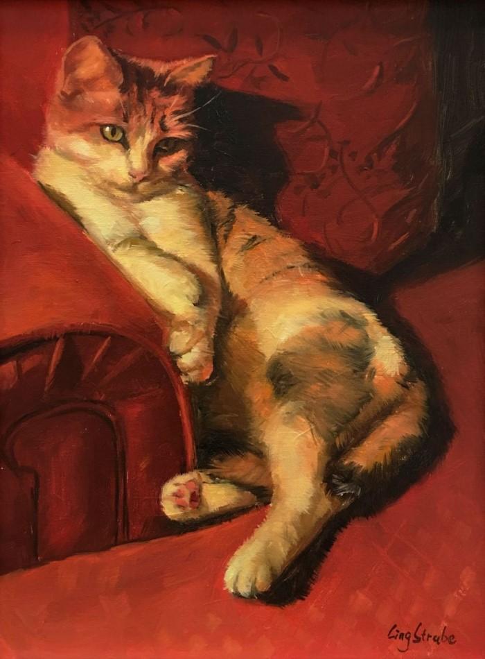 Китайский художник. Ling Strube