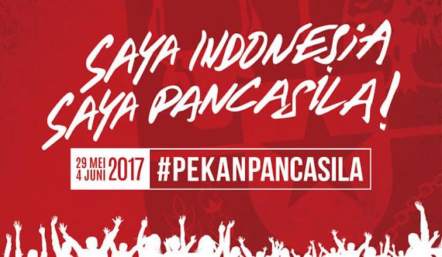 Ayo Ramai-ramai Sebarkan 'Saya Indonesia, Saya Pancasila!'