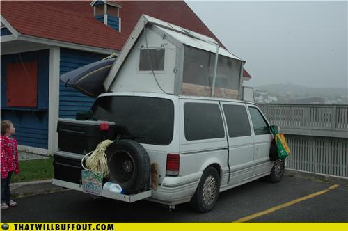 famous diy camper trailer