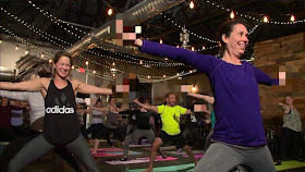 Yoga is about finding your center. There's a new trend to track down tranquility in the metro, but it's a more alternative twist to the usually peaceful exercise. WDAF photo