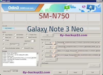 سوفت وير هاتف Galaxy Note 3 Neo موديل SM-N750 روم الاصلاح 4 ملفات تحميل مباشر