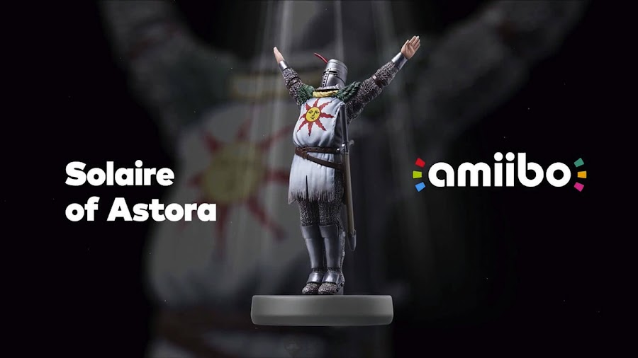 dark souls solaire of astora amiibo