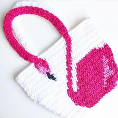 crochet girll bag