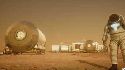 Cientistas encontram locais para colonização humana na lua e em Marte