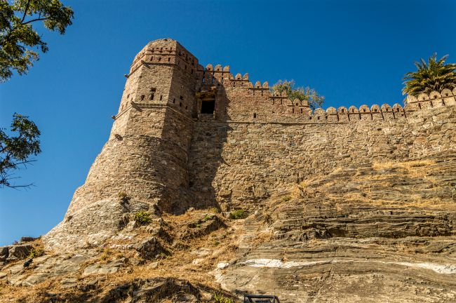 A Watch Tower at Kumbhalgarh