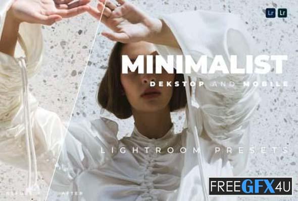 Minimalist Desktop and Mobile Lightroom Preset