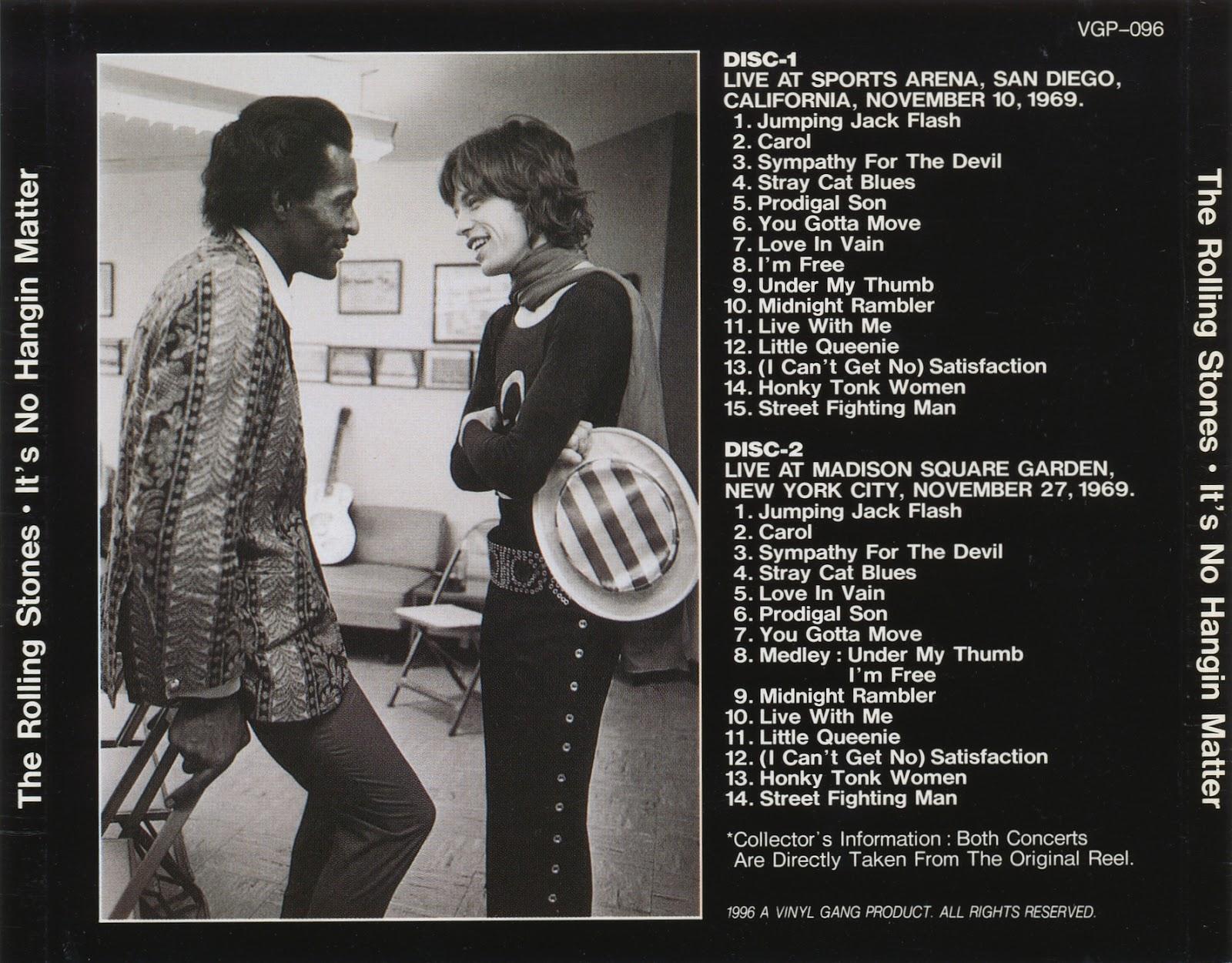 Bootleg Rambler: The Rolling Stones - 1969-11-10 San Diego