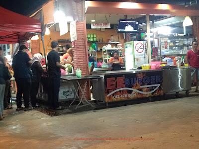 EE Burger Pekan Kuah