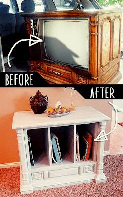 Trash To Treasure Curb Side TV Transformation