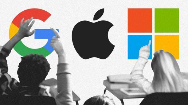 QTimes - Apple, Microsoft dan Google Pesta Cuan