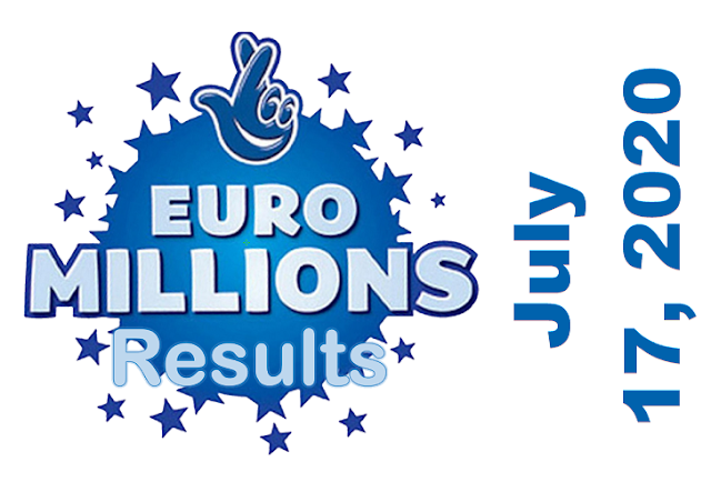 EuroMillions Results for Friday, July 17, 2020