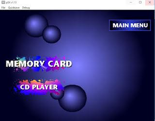 Pilih File ISO Game PS1 Atau CD Drive