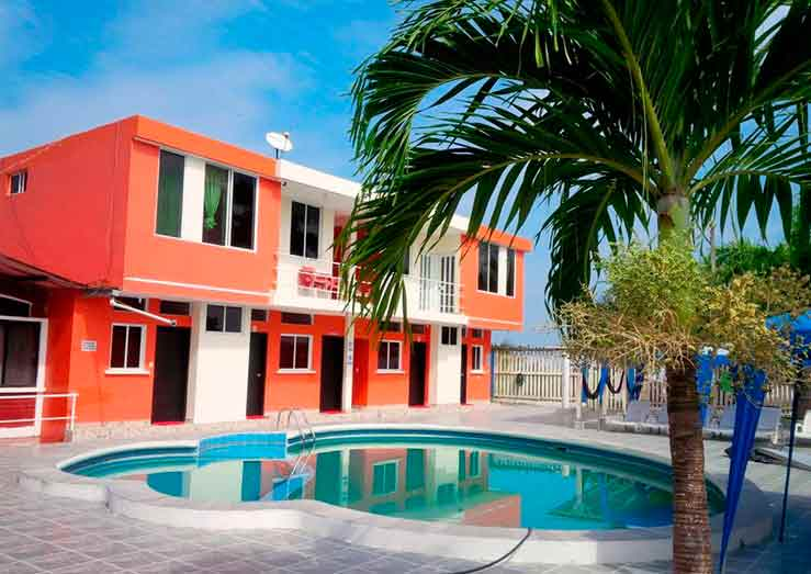 Cabaña Playa Arena - Hoteles en las Peñas Esmeraldas