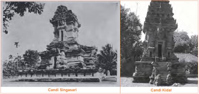 Candi peninggalan kerajaan singasari - candi kidal dan candi Singasari
