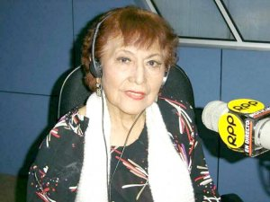 Foto de Jesús Vásquez en la radio