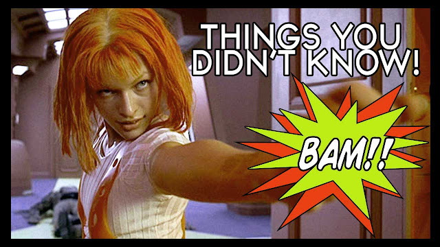 9 Things You Did not Know About The 5th Element!