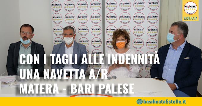 Il M5S Basilicata pubblica un avviso  per l'attivazione di una navetta da Matera a Bari Palese A/R
