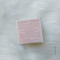 Pasjel Cherry Tender Night Facial Cream Review