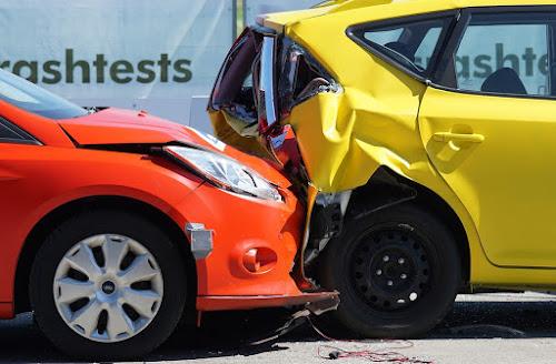 car crash rearend