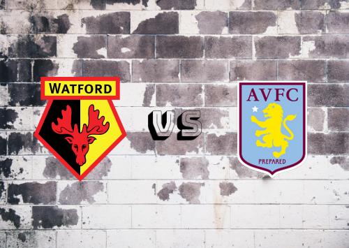 Watford vs Aston Villa  Resumen
