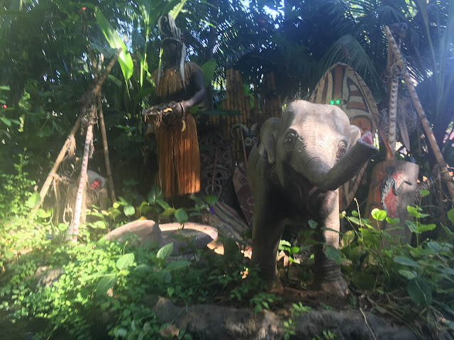 Trader Sam and Elephant Jungle Cruise Disneyland