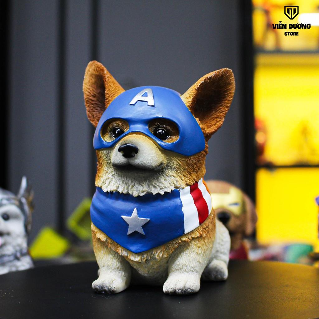 Mô hình ống tiết kiệm chó siêu anh hùng Siêu cute - AVENGER