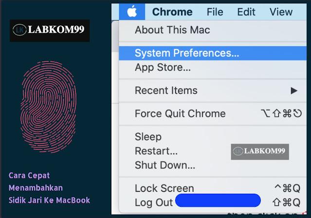 Cara Cepat Menambahkan Sidik Jari Ke Macbook