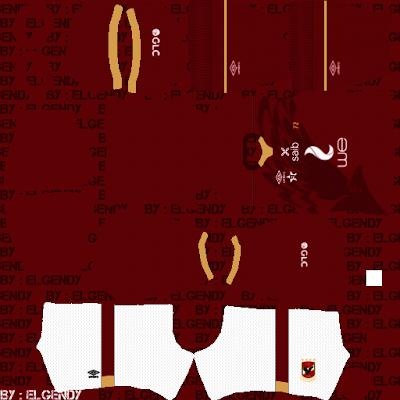 Bộ dụng cụ Al Ahly SC (Ai Cập) 2021/22 - Bộ dụng cụ DLS2021