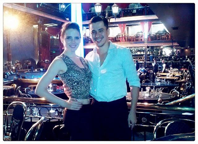 Esmeralda Massaroli y Cristian Bravo