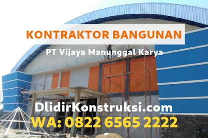 Harga Jasa Kontraktor Bangun Gudang / Pabrik di Palembang