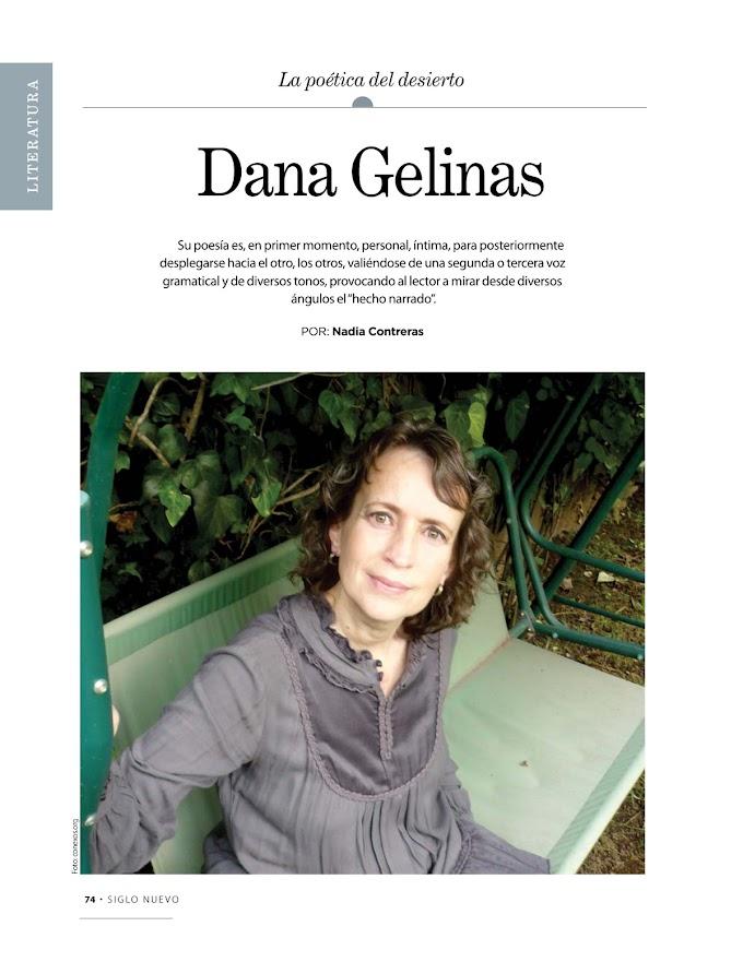 El yo colectivo y la poesía del desierto. Una revisión a la obra de Dana Gelinas