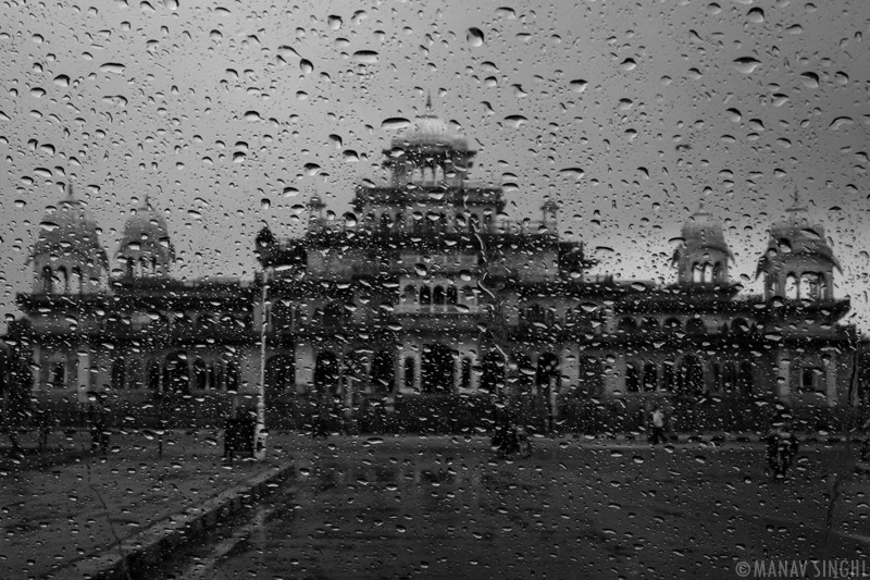Albert Hall Museum at Monsoon Time.