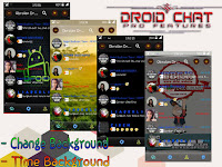 BBM Mod DroidCHAT PRO Feature v2.13.1.13 apk (Clone) + Change Background