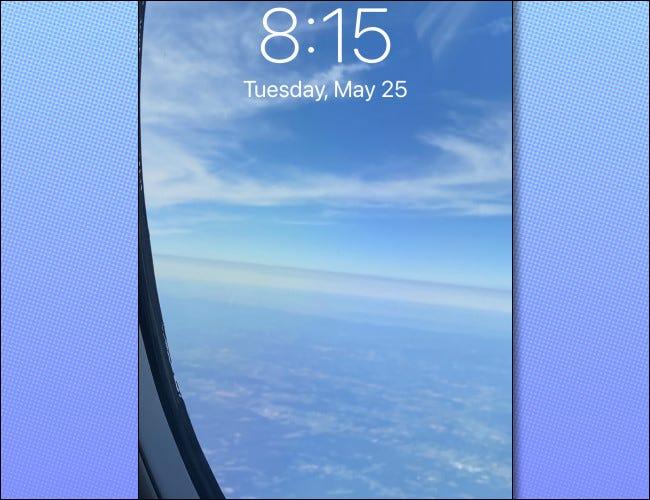 بعد تشغيل iPhone مرة أخرى ، ستختفي عناصر التحكم.