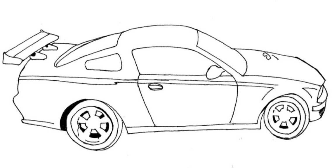 rac car coloring pages | FUN & LEARN : Free worksheets for kid: ภาพระบายสี รถ ...