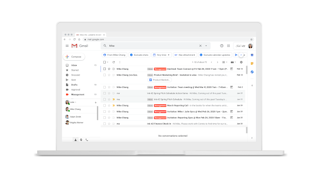 Refine Search Results in Gmail Faster with Search Chips 1