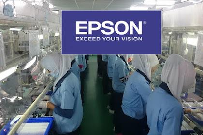 LOWONGAN KERJA DAERAH BEKASI PT. INDONESIA EPSON INDUSTRY NOVEMBER 2019
