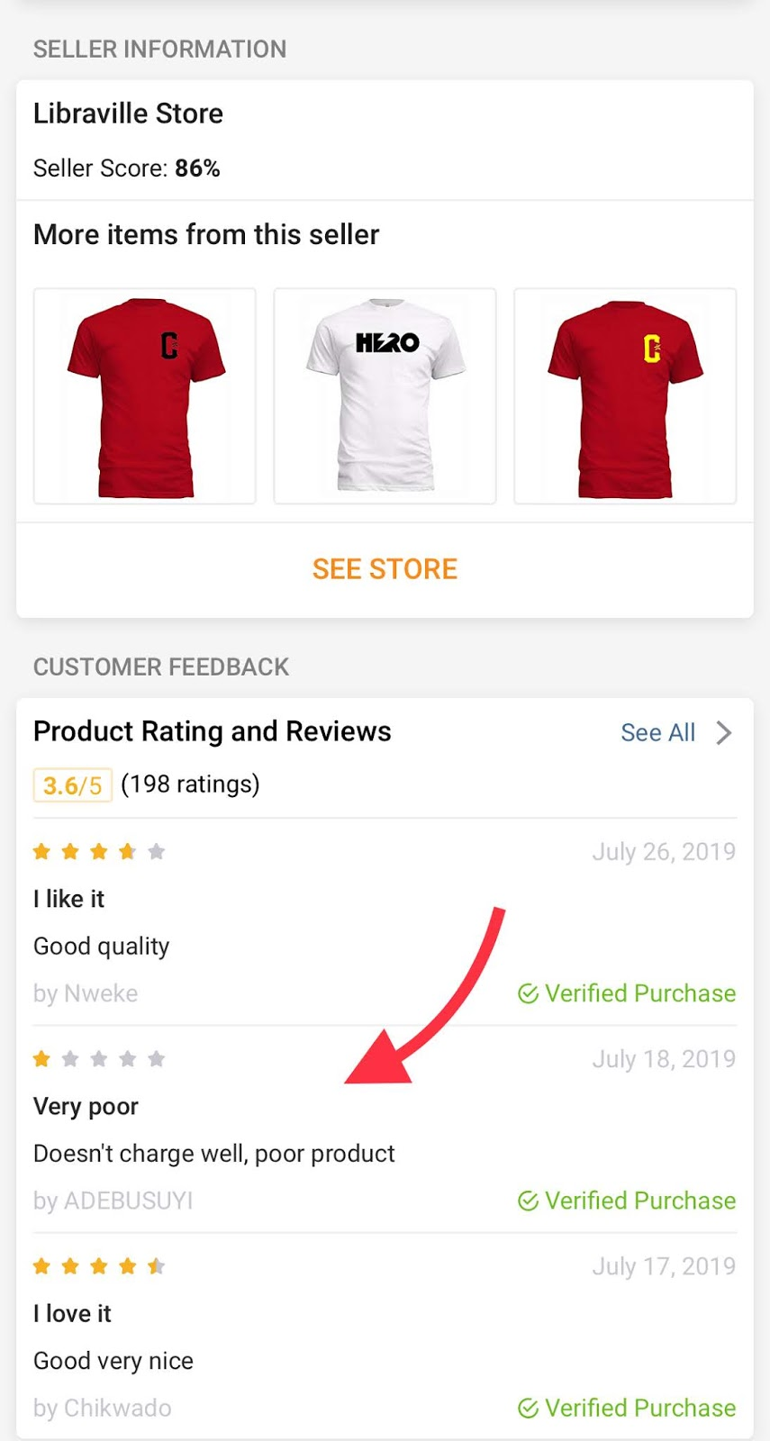 Jumia Fake Reviews