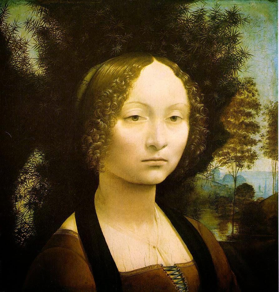 Retrado de Ginevra Benci - Leonardo Da Vinci | O maior artista de todos os tempos
