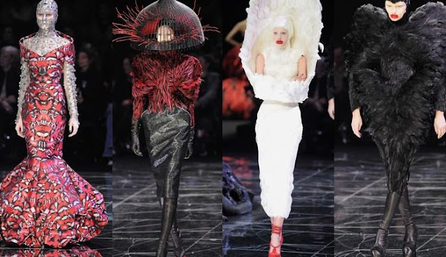 2239b91a21f30 هل تعلم ماهو السر وراء ابتكار مصممي الأزياء ملابس غريبة لا يمكن ارتدائها فى  الحياة العادية؟