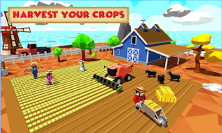 Blocky Farm Worker Simulator Apk - Free Download Android Game