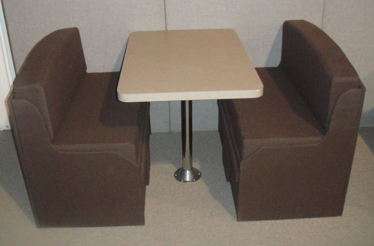Booth Style Dining Sets  Booth Veneers Pic
