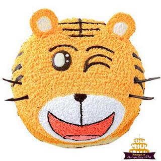 Bánh-sinh-nhật-hình-con-hổ-độc-và-lạ