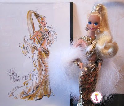 Bob Mackie 1990 Barbie scatch