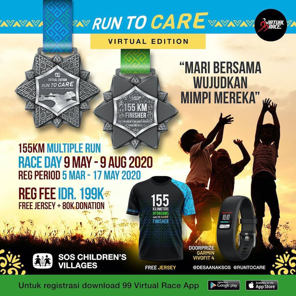 Run To Care - Virtual Edition • 2020